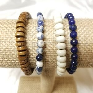 Handmade stretch bracelets
